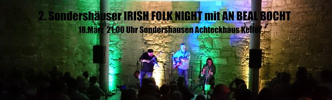 2. Sondershäuser IRISH FOLK NIGHT (Foto: Privat)