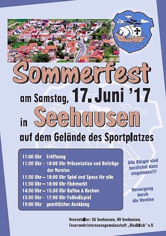 Sommerfest in Seehausen (Foto: Stadtmarketing Bad Frankenhausen)