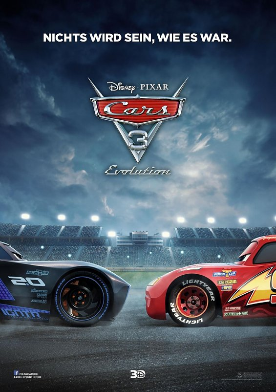 Cars 3 - Evolution (Foto: Walt Disney Studios)
